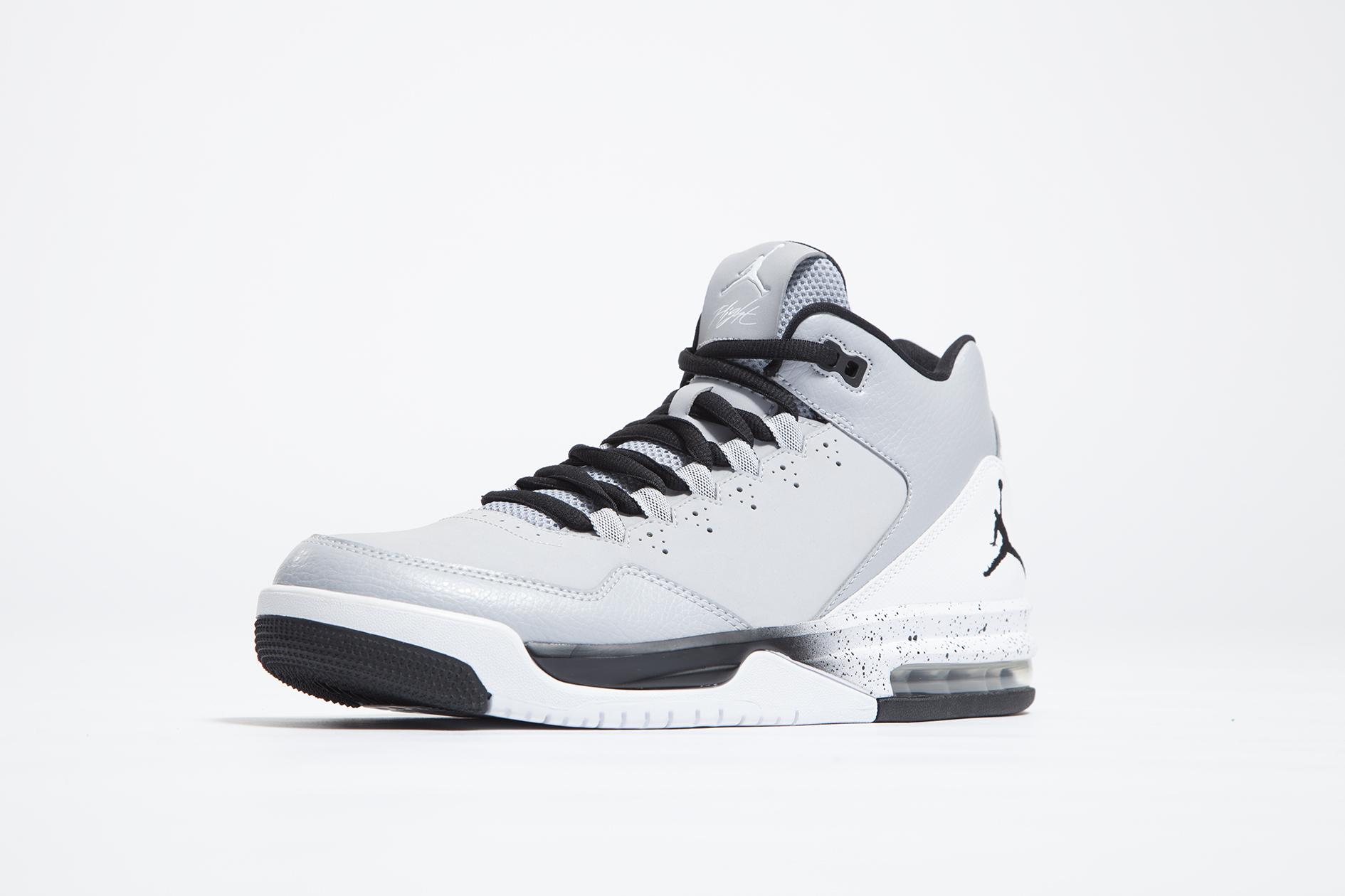 Air Jordan Vol 45 Haut De La Chambre Blanc Gris Noir