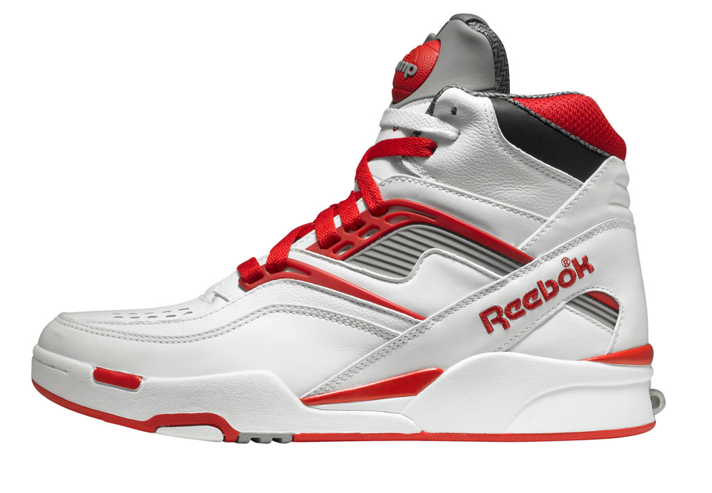 Pump Twilight Zone - J10325 - white-Reebok red-railroad grey