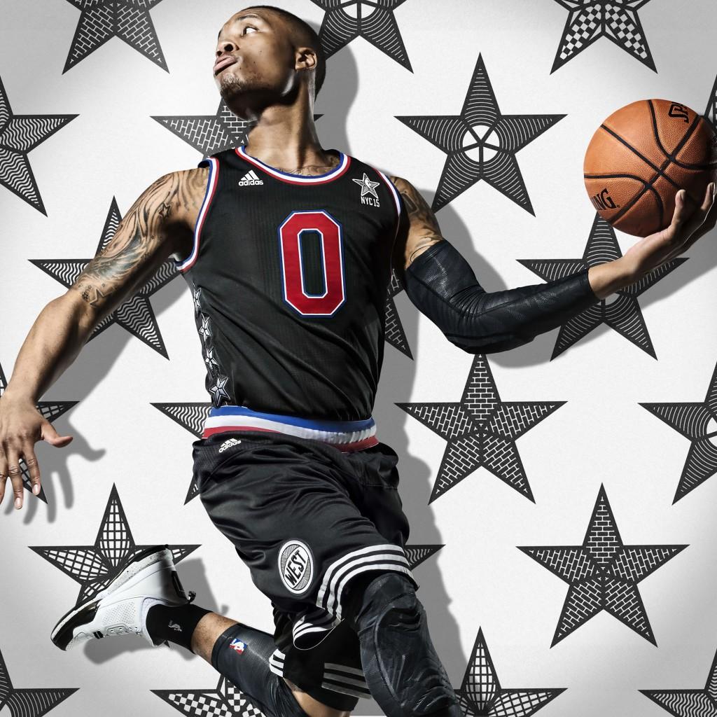 adidas Damian Lillard NBA All-Star 2015 1 Sq