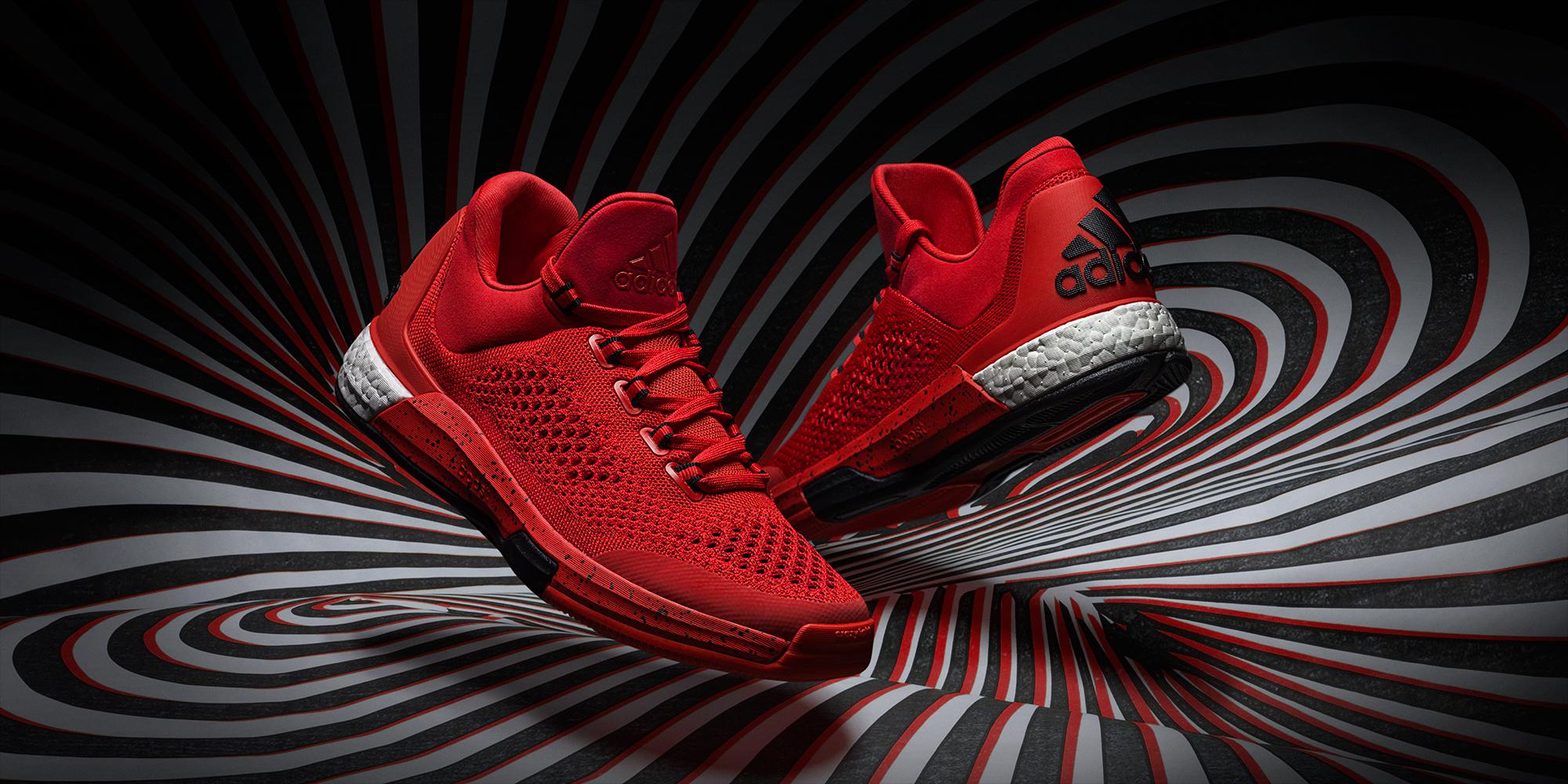 adidas crazylight boost 2015 bleu