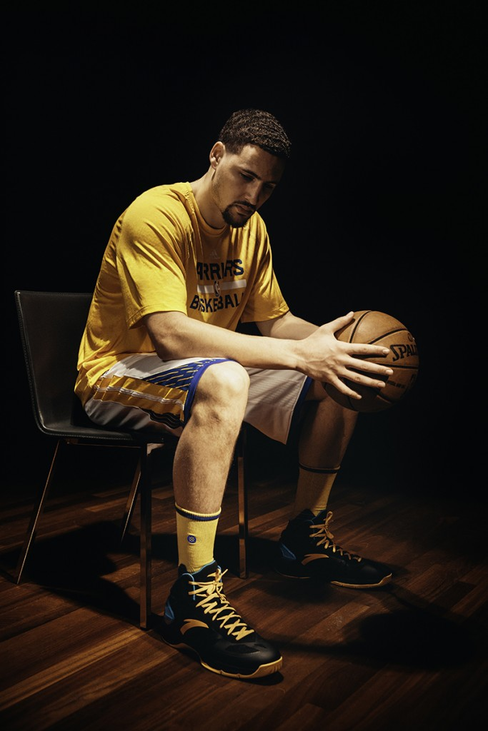 Klay Thompson Stance