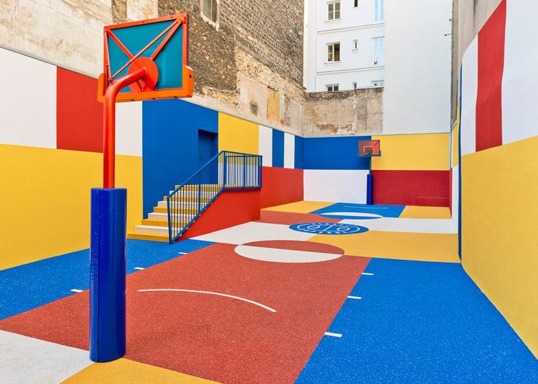 Pigalle terrain de basket (1)