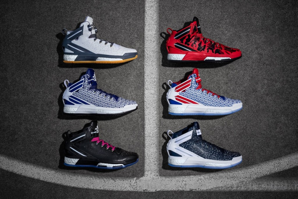 D Rose 6 miadidas Court (3x2)