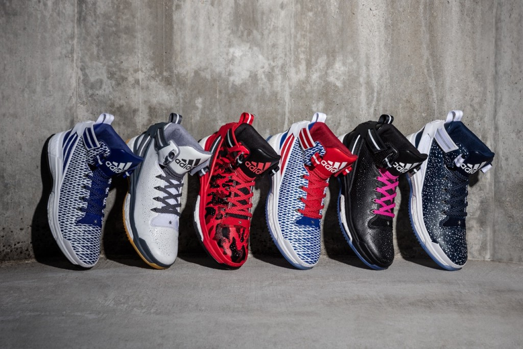 D Rose 6 miadidas Wall (3x2)