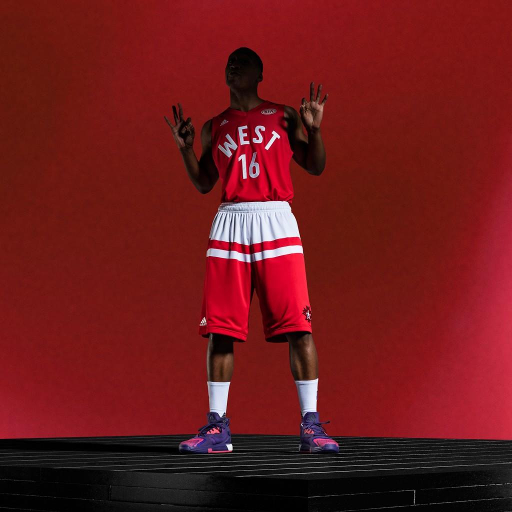 adidas-NBA All-Star West Uniform, Sq